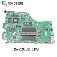 NOKOTION DAZAAMB16E0 NBGDF1100B NB. GDF11.00B Acer aspire E5-575 E5-575G 노트북 마더 보드 SR2ZU I5-7200U CPU GTX950M DDR4
