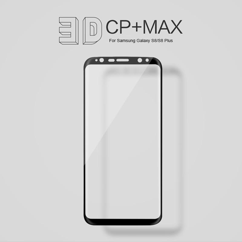 Image 3 - Per Samsung Galaxy S10/S10e/S10 +/S9/S8 +/S20 di Vetro NILLKIN Incredibile 3D CP + MAX Copertura Completa 9H Temperato Protezione Dello Schermo di Vetrotempered glass screen protectorglass screen protectorscreen protector -
