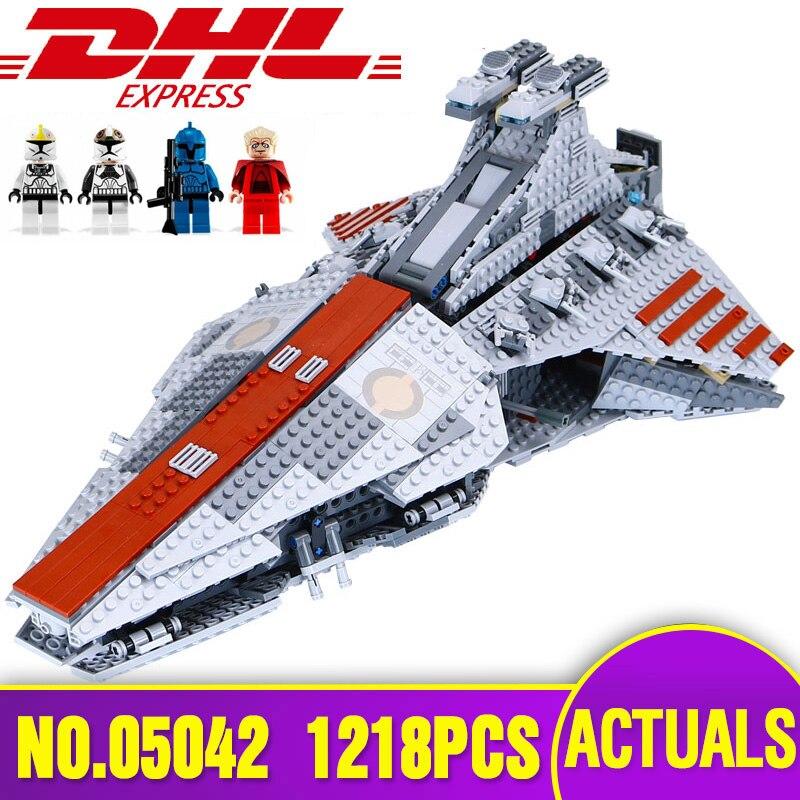 DHL 05042 Star Series The Wars 8039 Republic Fighting Cruiser Building Blocks Bricks Educational Toys Children Christmas Gifts