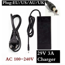 29.4V 3A lithium battery charger 7 Series 29.4V 3A