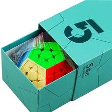 Hızlı teslimat Yongjun MGC Megaminx manyetik sihirli küp MGC 5 M 3x3x5 sihirli cubo YJ küp hızlı manyetik küpler bulmaca çocuk oyuncakları
