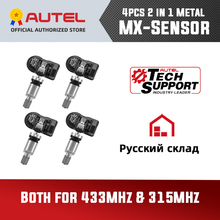 Universal Autel Tire Programming TPMS 315MHZ 433MHZ MX Sensor Support Tire Programming Autel TPMS PAD Diagnostic Tool Car TPMS