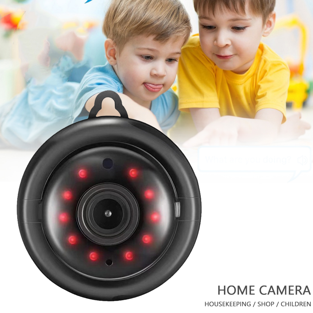 1080P Mini Wireless Camera IP Camera HD WiFi Camera Baby Monitor Home Security Surveillance IR Night Vision Motion Detect