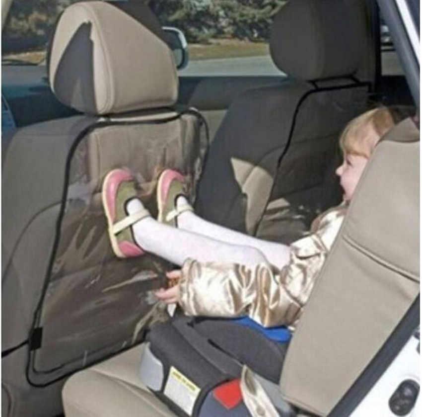 غطاء مقعد السيارة حماة للأطفال حماية الظهر من مقاعد السيارات يغطي للكلاب الطفل من الأوساخ الطين