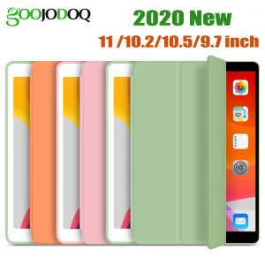 GOOJODOQ for iPad 2018 Case 9.7 Air 2 Air 1 Air 3 10.5 Case for iPad 10.2 2019 7th Gen 6th Pro 11 2020 2018 Case Funda Capa(China)