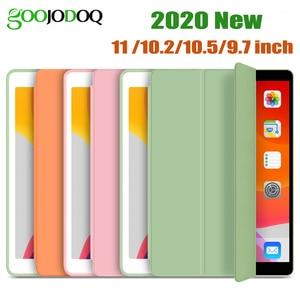 GOOJODOQ for iPad 2018 Case 9.7 Air 2 Air 1 Air 3 10.5 Case for iPad 10.2 2019 7th Gen 6th Pro 11 2020 2018 Case Funda Capa(China)
