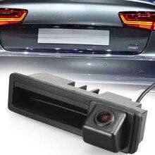 Car Dvr Radar Detector Rear View Trunk Handle Parking Backup Reverse Rear View Camera for Audi A6L Q7 A3 A4 A6 8E