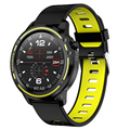 L8 Смарт-часы мужские Ip68 Водонепроницаемый режим смарт-часы с ЭКГ Ppg кровяное давление сердечный ритм спортивные фитнес-часы-зеленый