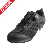 Exclusive! Tiebao Men Knit Upper Cycling Shoes Breathable Lightweight MTB Shoes Sapatilha Ciclismo Mtb Self locking Bike Shoes