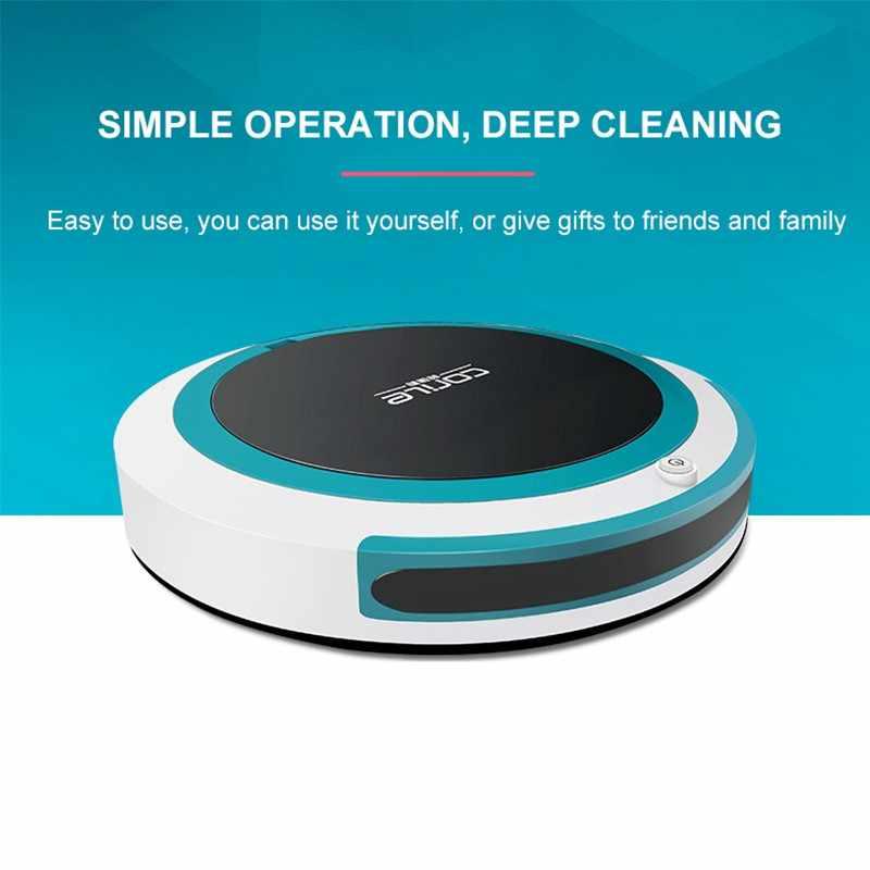 Робот пылесос для дома автоматический для уборки пыли стерилизовать умный планируемый моющий Швабра
