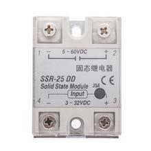 цена на Solid State Relay SSR DC-DC 25A 3-32VDC/5-60VDC