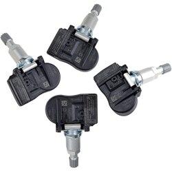 4 sztuk czujnik monitorowania ciśnienia w oponach 9681102280 FW931A159AB czujnik tpms dla Land Rover range Rover sport FW93 1A159 AB 433Mhz w Systemy monitorowania ciśnienia w oponach od Samochody i motocykle na