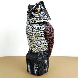 Image 5 - Repelente de aves de búho, espantapájaros reflectantes para colgar, repelente de aves y palomas, Control de plagas, espantapájaros, patio de jardín
