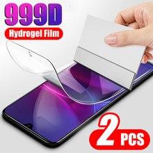 999d 2-1 pçs capa completa filme de hidrogel para oneplus 5 6 7 8 5t película protetora para oneplus 8 pro 7t 5t protetor de tela não vidro