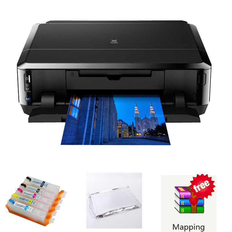 Jetvinner For Canon IP7260 Cake Printer Machine With WiFi For Cake, Lollipop With Ink Cartridge, Edible Paper, Software