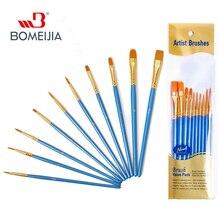 BOMEIJIA Portable Solid Watercolor Paint Set With Paint Brush Watercolor Painting Pigment Set For Student Art Supplies