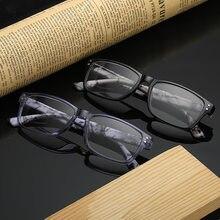 Clássico retro óculos de leitura masculino quadrado óculos de leitura computador feminino unissex + 1.0 1.5 2.0 2.5 3.0 3.5 + 4.0