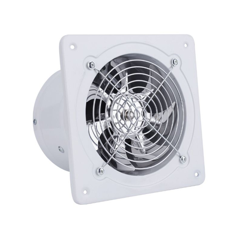 Exhaust Fan 7 Inch Exhauster Wall Mounted Low Noise Air Vent Home Bathroom Kitchen Exhaust Fan Ventilation Extractor 50W 220V