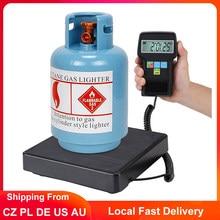 220lb/100kg Balance numérique professionnel A/C réfrigérant balances de charge précision électronique Balance de poids avec étui