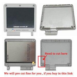 Image 4 - Ips V2 Lcd Kit con Il Caso di Shell per Gba Sp Ips Retroilluminazione Dello Schermo Lcd con Pre Cut di Shell per gbasp Console Custodia con Pulsanti
