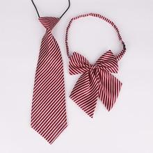 Accessory Bowtie-Set Baby Shirts Custom-Logo Butterfly Kids School Children Boys Elastic