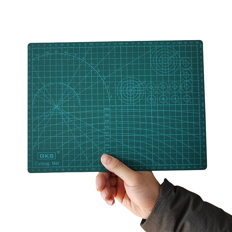 1 Pcs A4 Cutting Mat PVC Pad Patchwork Cut Pad A3 Patchwork Tools Manual DIY Tool Cutting Board Double-sided Self-healing