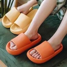 Wedges-Sandal Slides-Shoes Home-Slippers Platform Thick-Bottom Fashion Summer Women LLUUMIU