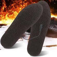 1 Pair Electric Heating Shoe Insoles USB Heated Sneaker Insoles Comfortable Soft Lint Winter Outdoor Sports Feet Warming Insoles