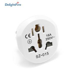High Quality EU Plug Adapter Universal 16A 250V AU US UK CN To EU Wall Socket US to EU Converter Socket AC Travel Adapter