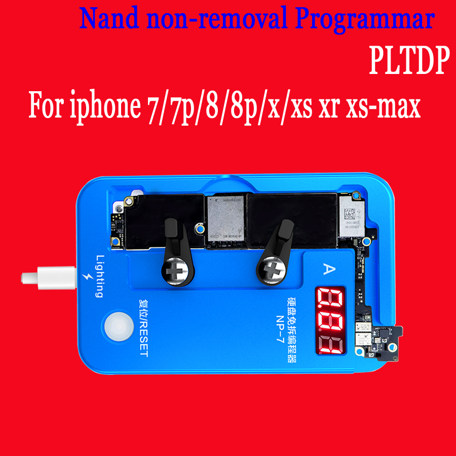 Hard Disk NAND Non removal Programmer for iPhone 7G 7 Plus 8G 8 Plus X XR XS XSMAX data read/write/edit|Phone Repair Tool Sets| |  -