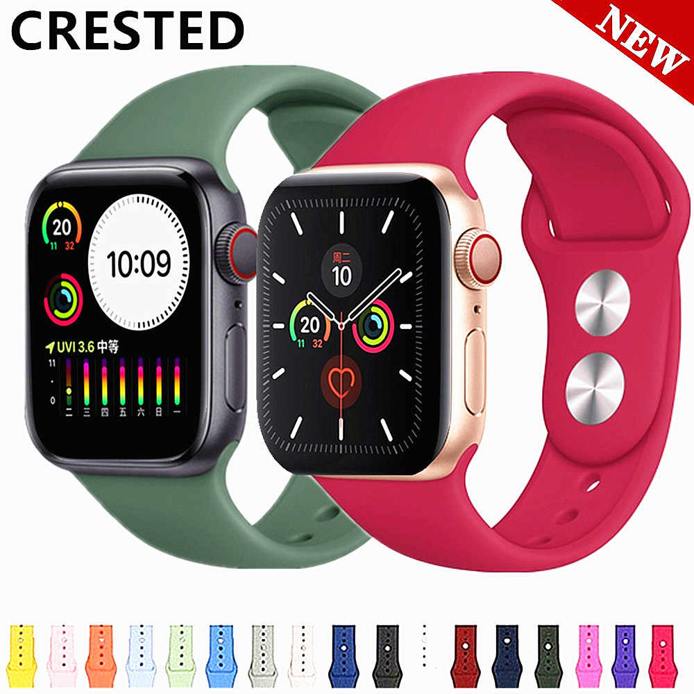 Tali untuk Apple Watch Band 5 44 Mm/40 Mm IWatch Band 5 4 3 42 Mm 38 Mm Correa pulseira Watch Band untuk Apple Watch 5 4 3 Gelang