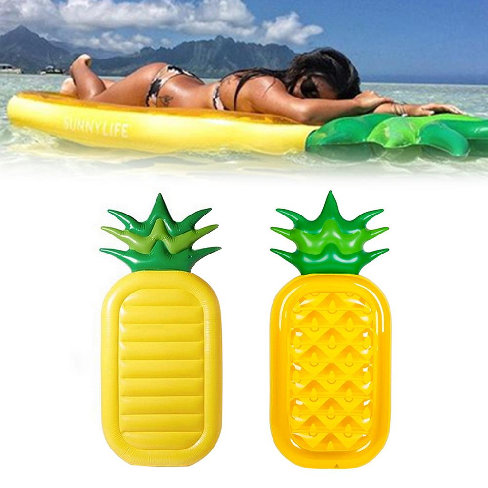 Inflatable sex doll Pineapple Adult Kids Swimming Pool Floating Air Mattress Raft Bed Mat