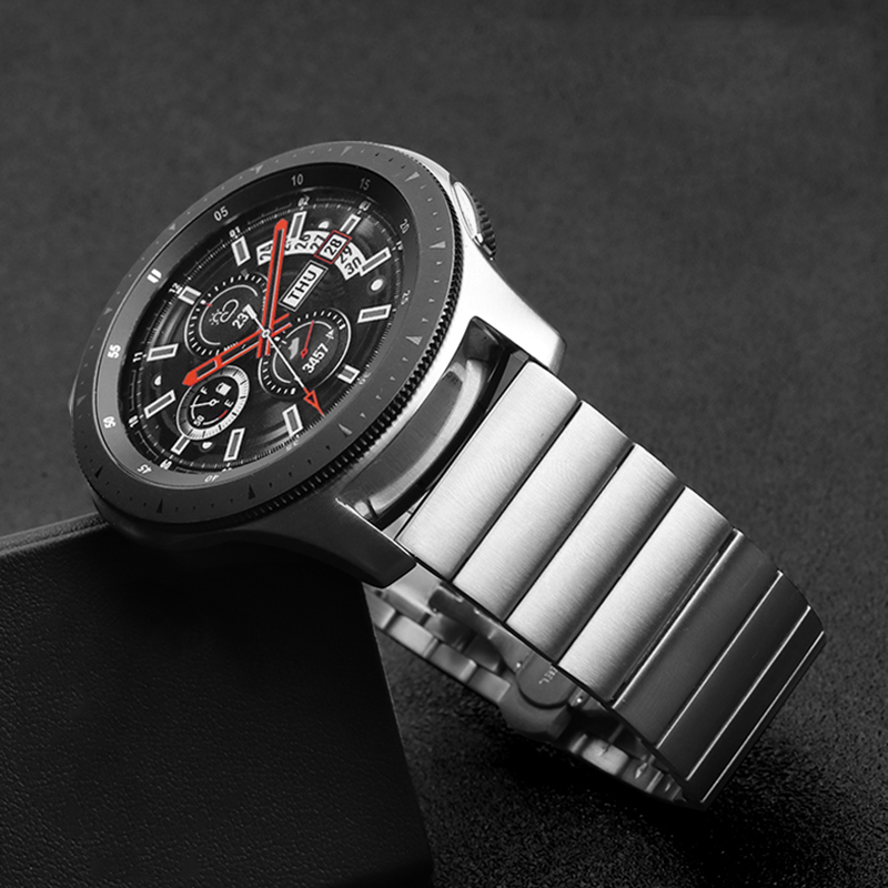 Luxury Stainless Steel Band For Samsung Galaxy Watch 46mm/42mm/Active 2 Strap Gear S3 Frontier Band Huawei Watch GT 2 Bracelet
