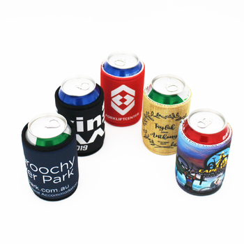 500 Pieces Free Shipping Insulated Picnic Cooler Bags Neoprene Beer Cooler Promotional Gift Promotional Stubby Holders фото