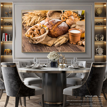 Bread Milk Kitchen Theme Canvas Paintings On The Wall Art Posters And Prints Modern Art Picture For Kitchen Room Wall Decoration kitchen theme wall poster and prints various seasonings canvas art paintings on the wall canvas art pictures cuadros decoration