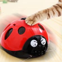[И магазин MPK] Поймайте меня, если вы можете супер забавная игрушка для кошек, игрушка для домашних животных на батарейках AAA, Смотрите наше видео, чтобы узнать больше