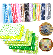 25x25cm Cotton Fabric Printed Cloth Sewing Quilting Fabrics For Patchwork Needlework Sewing DIY Handmade Craft Accessories