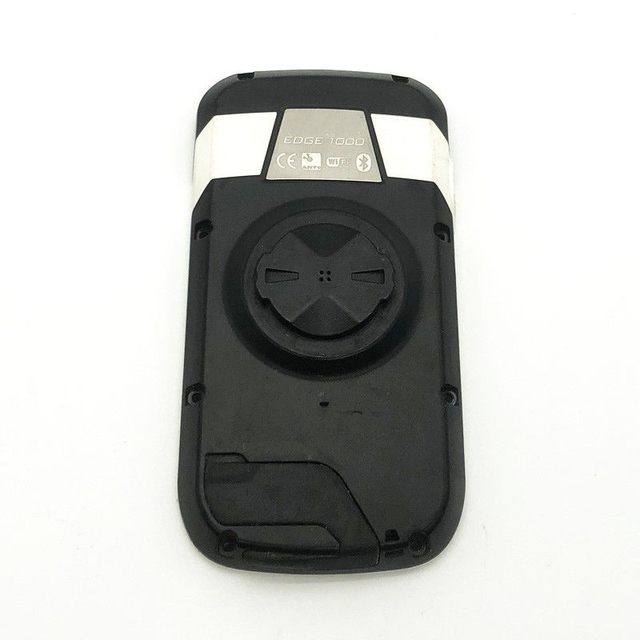 Occasion couverture arrière étui pour Garmin Edge 1000 pièces de rechange GPS vélo code table sans batterie noir/blanc