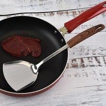 Напрямую от производителя из нержавеющей стали, теплоизолирующая плоская лопатка бытовой кухонный инструмент кухонная лопатка поддержка
