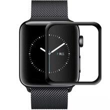 Закаленное стекло для apple watch band apple watch 5 4 3 44 мм 40 мм 42 мм/38 мм iwatch Защитная крышка для экрана Аксессуары для apple watch