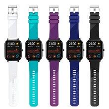 Silikon Strap für Amazfit GTS Armband für Xiaomi Huami Amazfit Bip/GTS/GTR 42mm Smart Uhr Band für Garmin Vivoactive 3 Strap