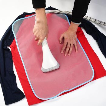 Użytku domowego prasowanie w wysokiej temperaturze mata izolacyjna siatka ochronna tkanina do prasowania netto podkładka izolacyjna losowy kolor tanie i dobre opinie