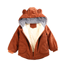 Children Winter Jackets for Boys Girls Jacket Coat Hooded Warm Kids Outerwear Autumn Baby Boy Clothes Overcoat 1 2 3 4 5 Years 2018 children jackets for girls cotton winter coat girls baby winter kids warm outerwear hooded coat snowsuit overcoat clothes