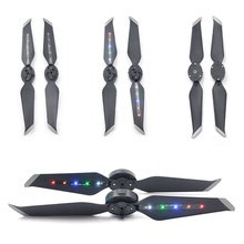 For DJI Mavic 2 PRO / ZOOM For Surprise/Advertise Cool Drone Camera Accessories 4K Spare Parts LED Light Propeller Flash 4pcs все цены