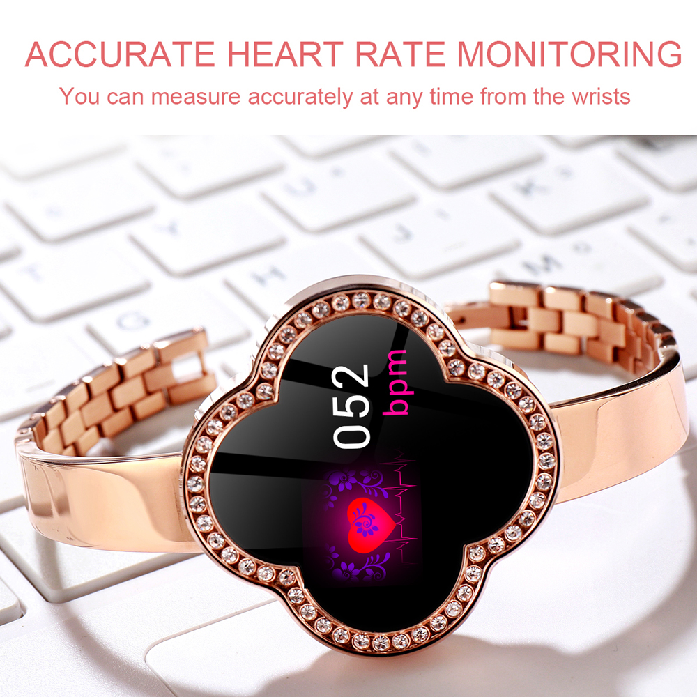 696 S6 Women Smart Bracelet Blood Pressure Heart Rate Monitor Fitness Tracker Sports Wristband For Android iOS Lady Smart Watch