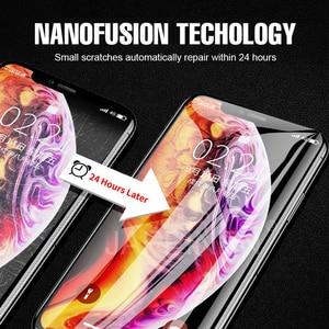 Image 5 - Przednia + tylna folia ochronna na cały ekran folia TPU na iPhone XR XS Max X 8 7 6 6s Plus folia hydrożelowa na iPhone 12 11 Pro Max mini Film