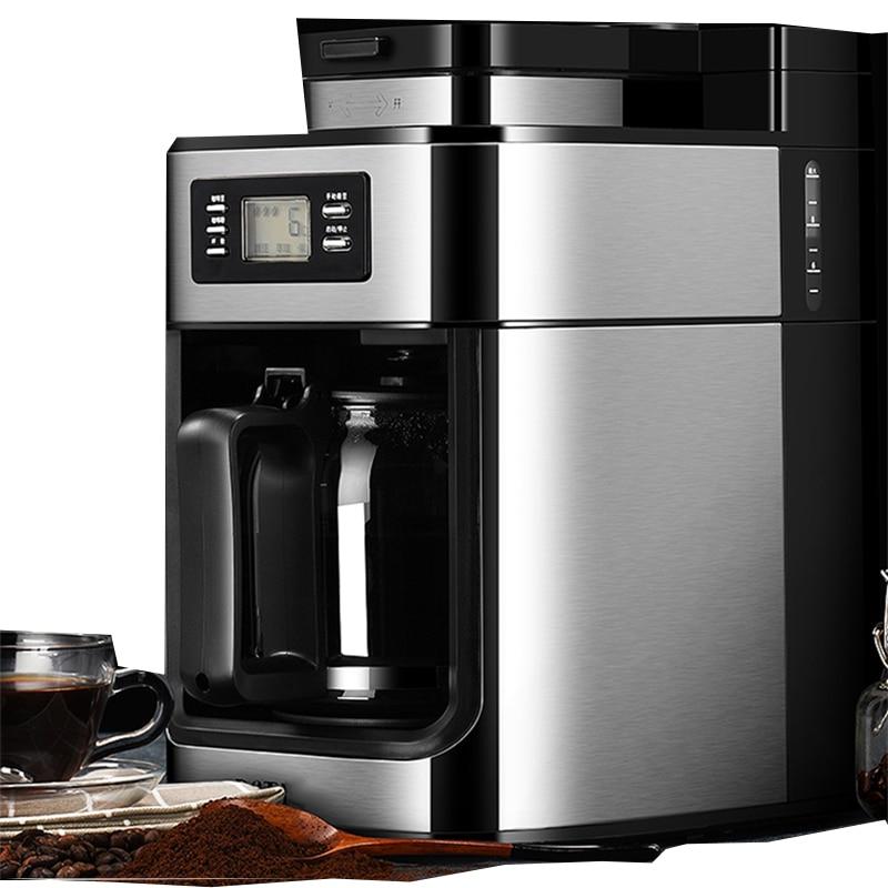 PE3200 máquina automática de café americana máquina de molienda casera máquina de café polvo de frijol máquina de café pequeña de doble uso