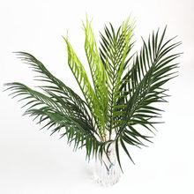 Wedding Road decoration artificial flower green plant simulation fern 9 fork plastic iron leaf