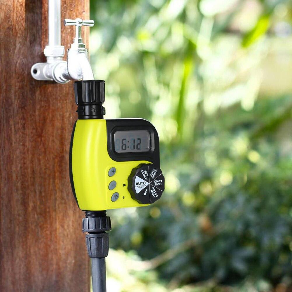 ABS Kunststoff AA 1,5 V Programmierbare Automatische Garten Bewässerung Timer Bewässerung Controller Wasser Pressure0-8kg Arbeits Pressure0-4kg