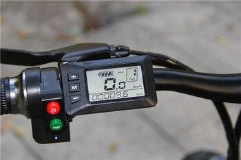 S9F China manufacturer 20 inch e bike 48v 1000w Bafang Motor fatbike 14AH Sam sung battery folding electric bike 5